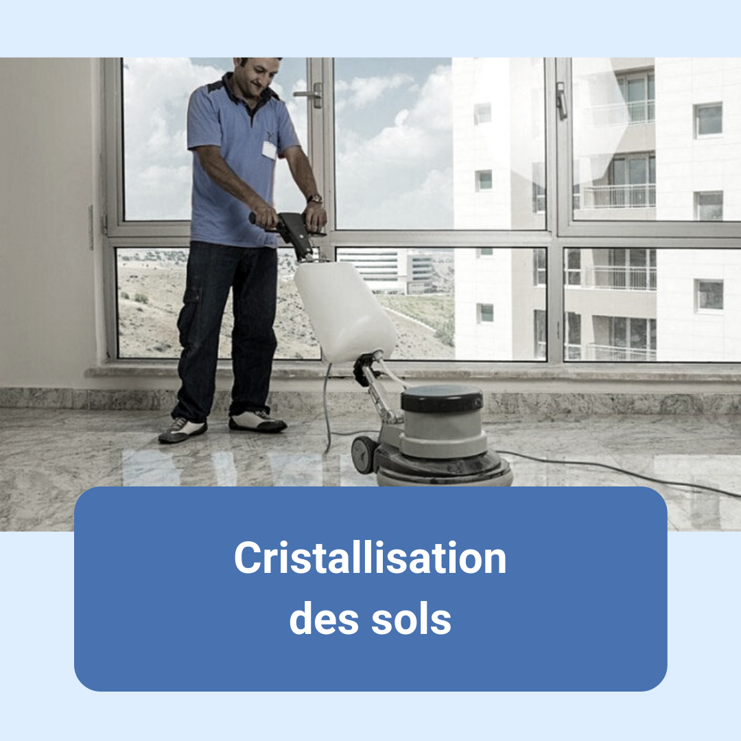 service, prestation, nettoyage sols, service aux entreprises, cristallisation des sols